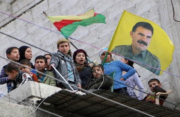 Курды в сирийском Алеппо