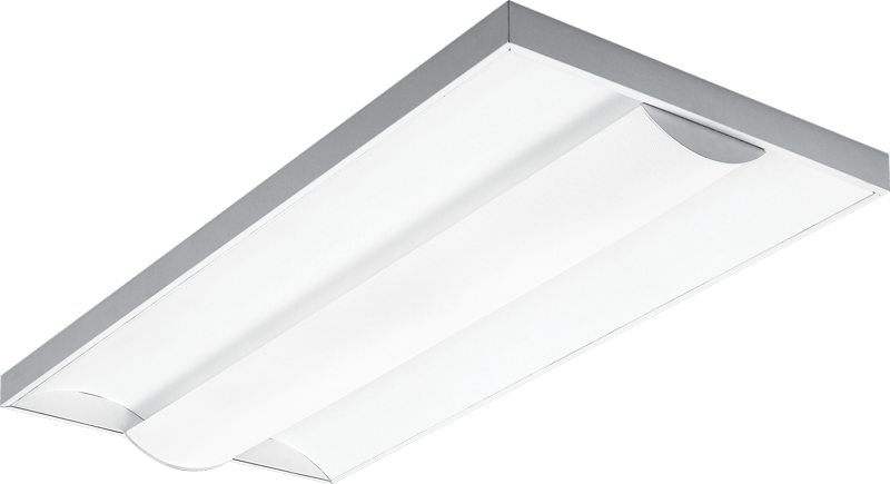 T5 Indirect Lighting Fixture Dishs - Shallow Direct/indirect Surface Mount - H.e