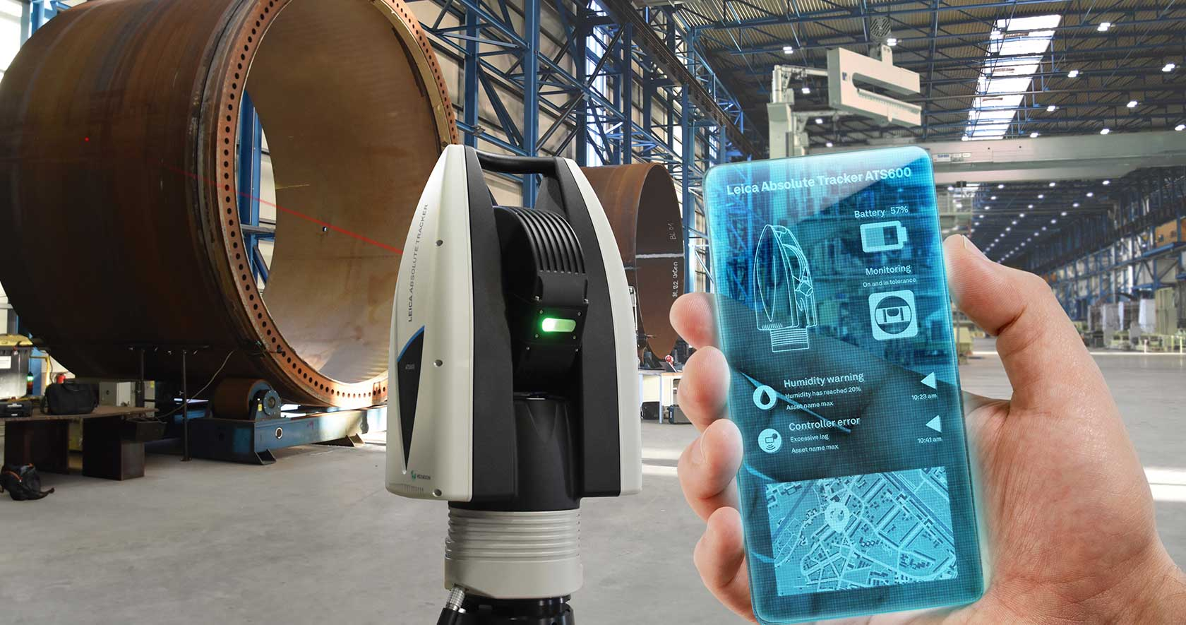 Laser Tracker Systems Hexagon Manufacturing Intelligence