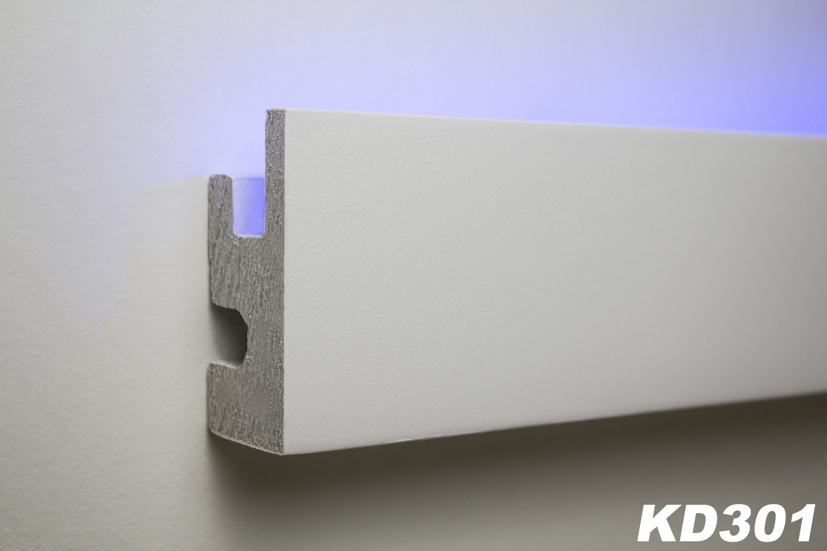 Rigipsplatten Abmessungen 1,15 Metri Led Barra In Stucco Per Illuminazione Indiretta