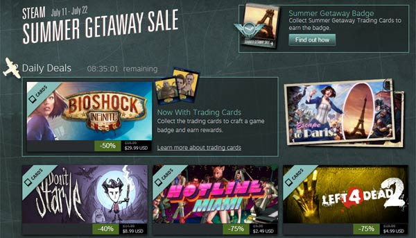 Steam Summer Sale starts, runs from now until 22nd July - PC - News