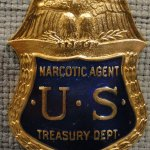 U.S. Treasury Narcotics Agent badge (Photo By: heydayJoe)
