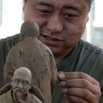 Folklife Festival China clay carving