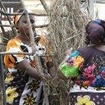 Folklife Festival Kenya hut builders