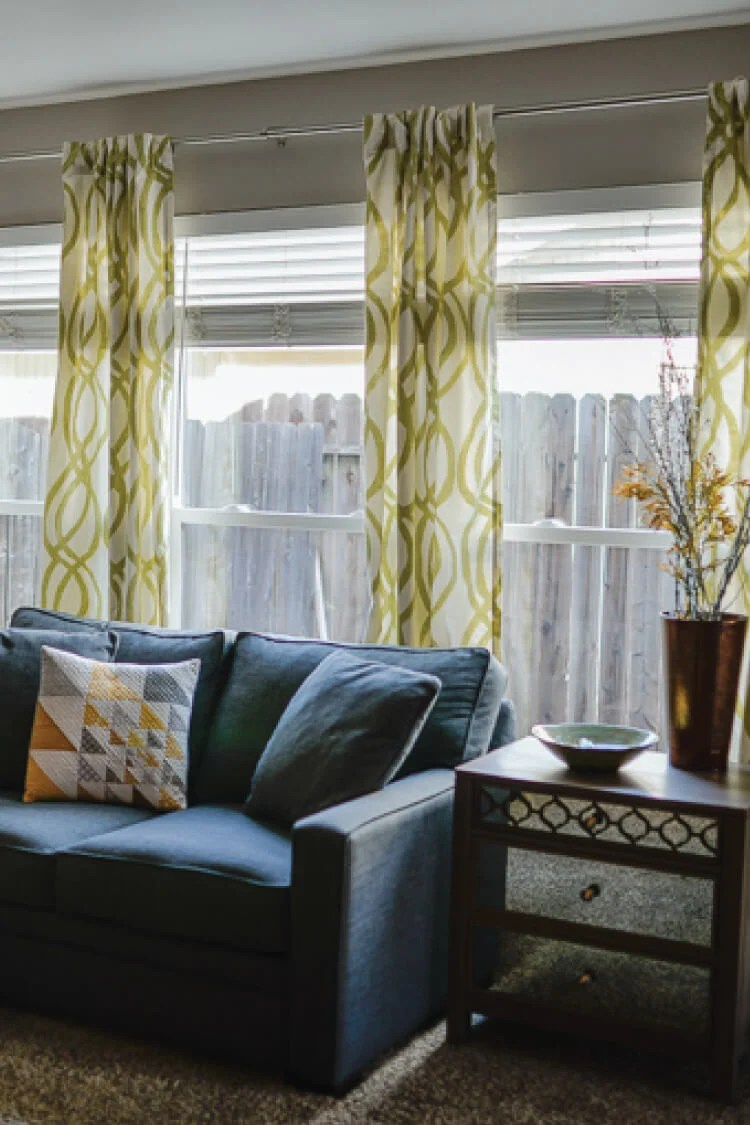 Diy Curtains For Small Windows Easy Sew Curtains Hey Let S Make Stuff