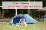 Urban Camping at D' Family Park + Sideout Outdoor Tadpole Tent Review