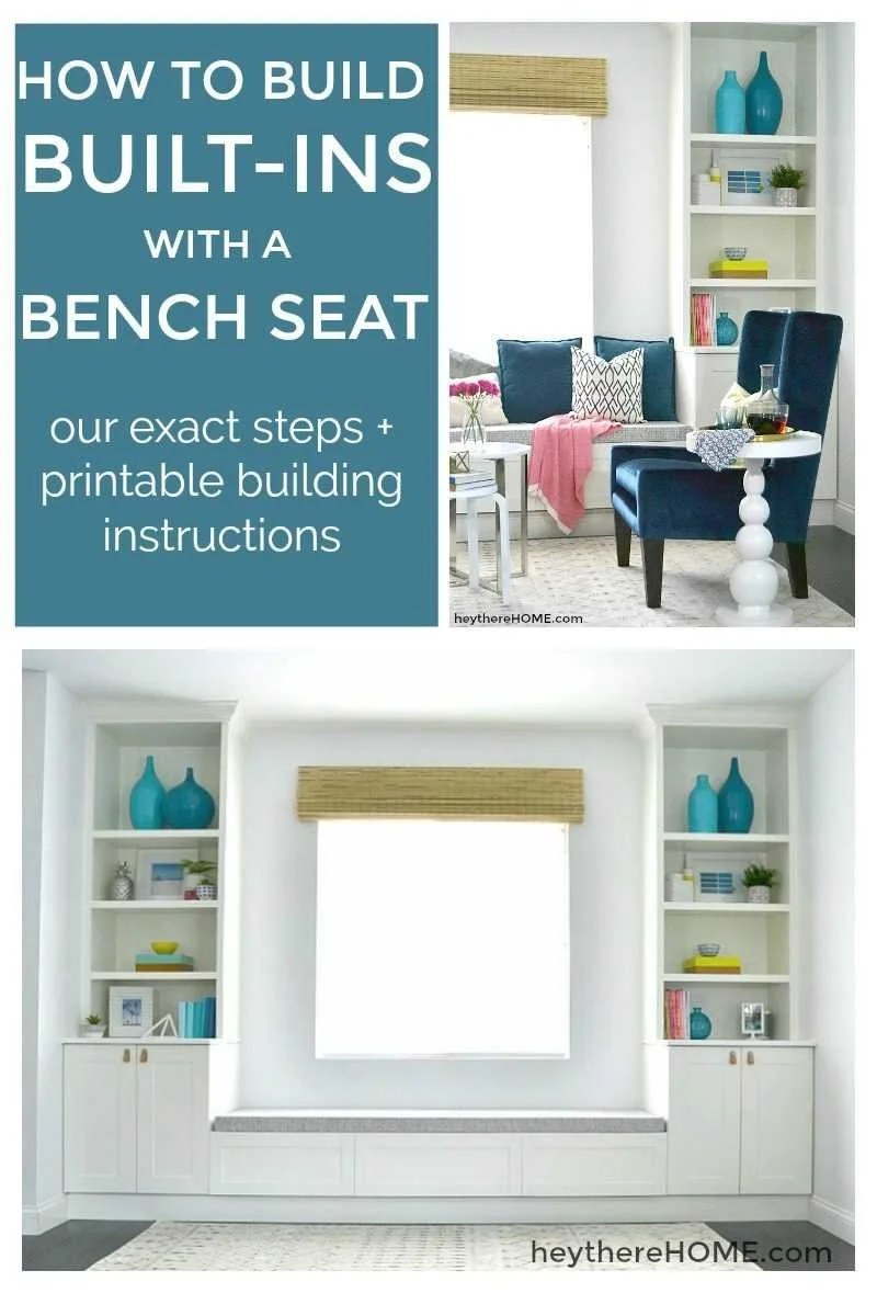 Diy Indoor Bench Seat How To Build Built Ins With A Bench Seat