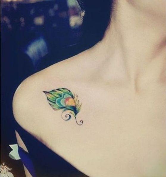 Tatuajes De Plumas Diferentes Diseños Y Sus Significados