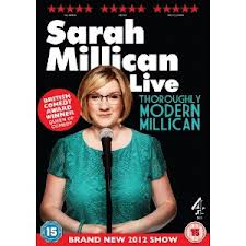 Sarah Millican Sarah Millican Live   Thoroughly Modern Millican   DVD Review