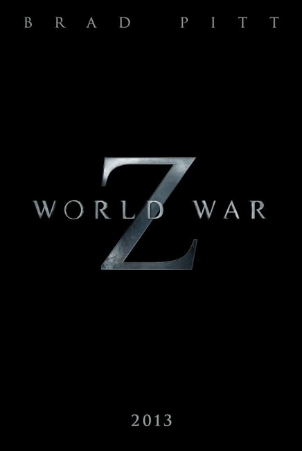 World War Z Teaser Poster 436x650 First Teaser Poster for World War Z with Brad Pitt
