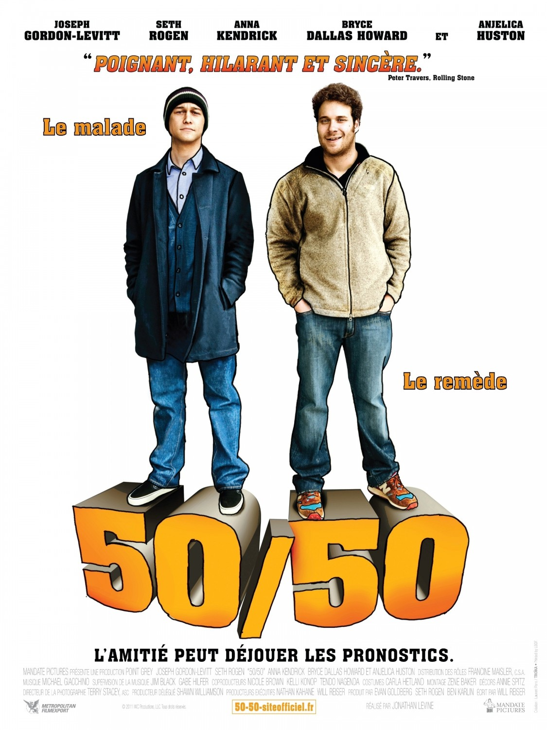50*50 Great New Cartoony Poster For 50 50 With Joseph Gordon