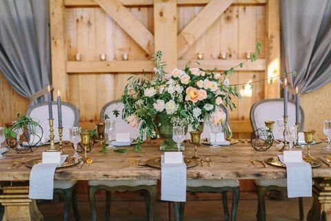 Rustic Sophistication Wedding Shoot In Wine Country Hey