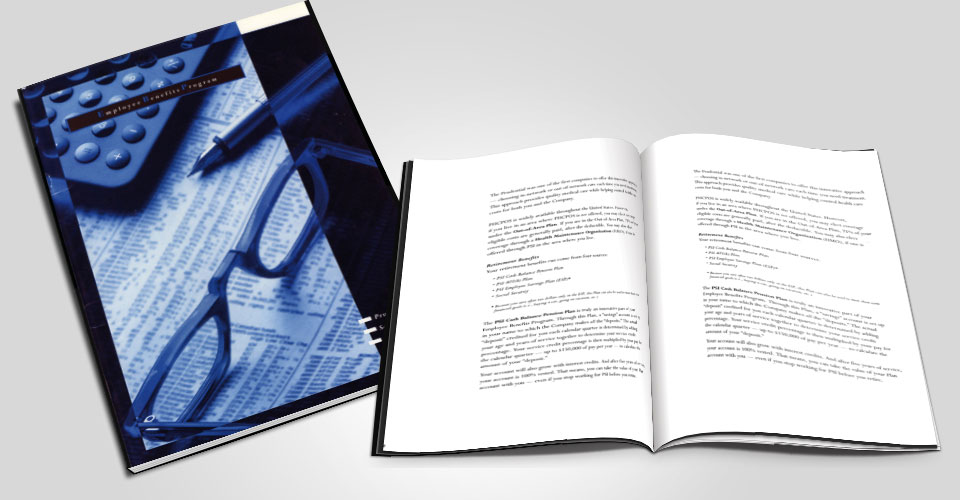 bifold brochure graphic design services