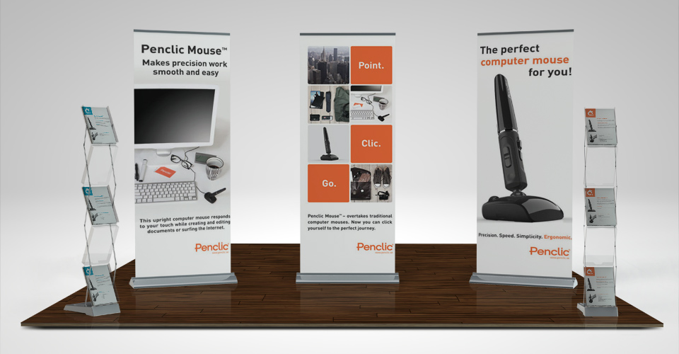 banner stand graphic design