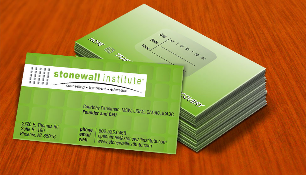 business card graphic design services