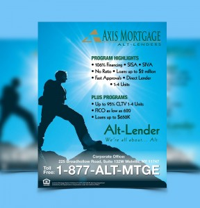 Mortgage Marketing Materials Direct Mail Flyer