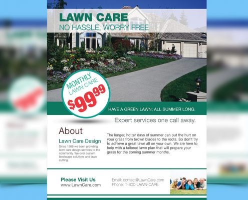 Direct Mail Marketing Lawn Care