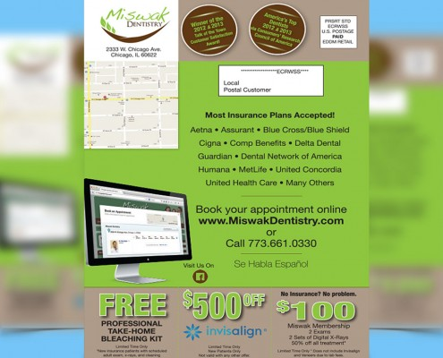 dental direct mail marketing