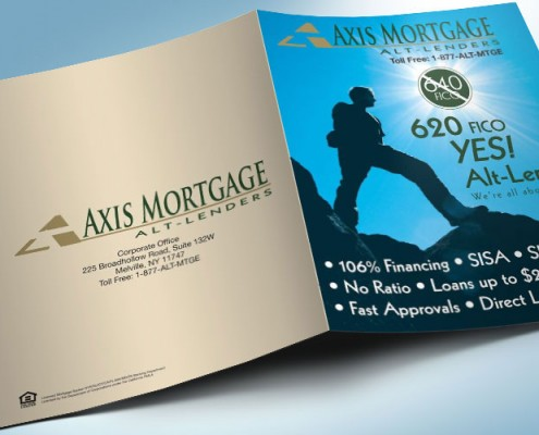 Pocket Folder Design Mortgage