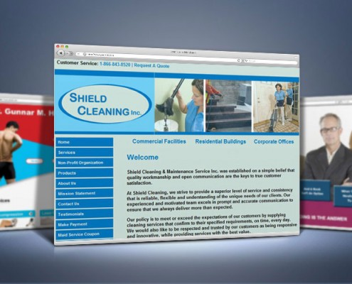 Web Design Cleaning Service