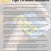 Postcard Marketing Tips