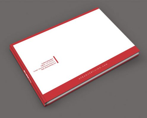 Corporate Identity Book Back Cover