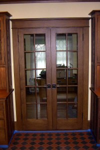 Craftsman Style Doors, Interior and Exterior