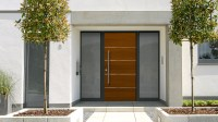 Aluminum-Wood Entry Doors  Harman Fensterbau