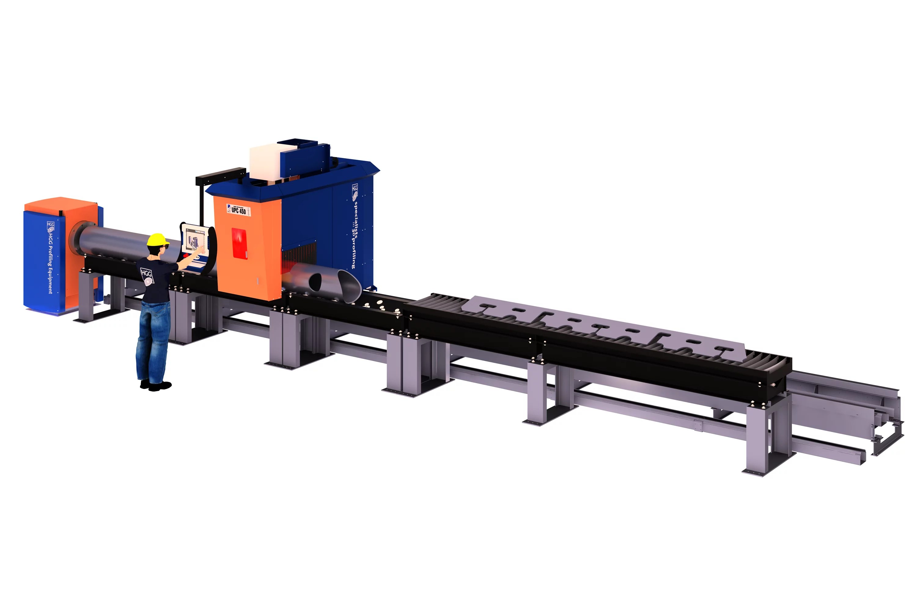 Machine Profile Cutting Machines And Services Hgg 3d Profiling