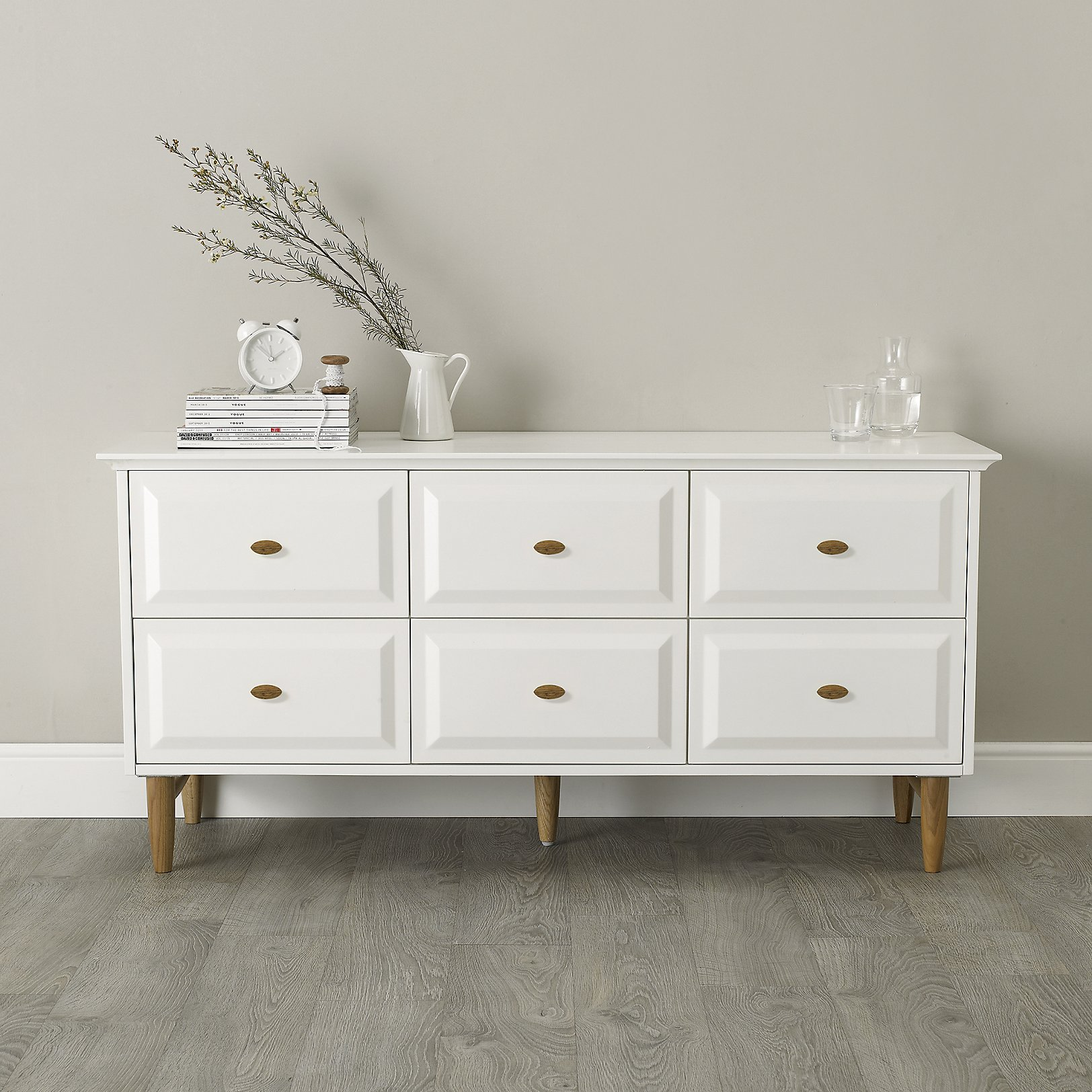 White Bedroom Dresser White Solid Wood Bedroom Set