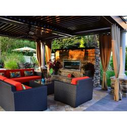Small Crop Of Backyard Living Area