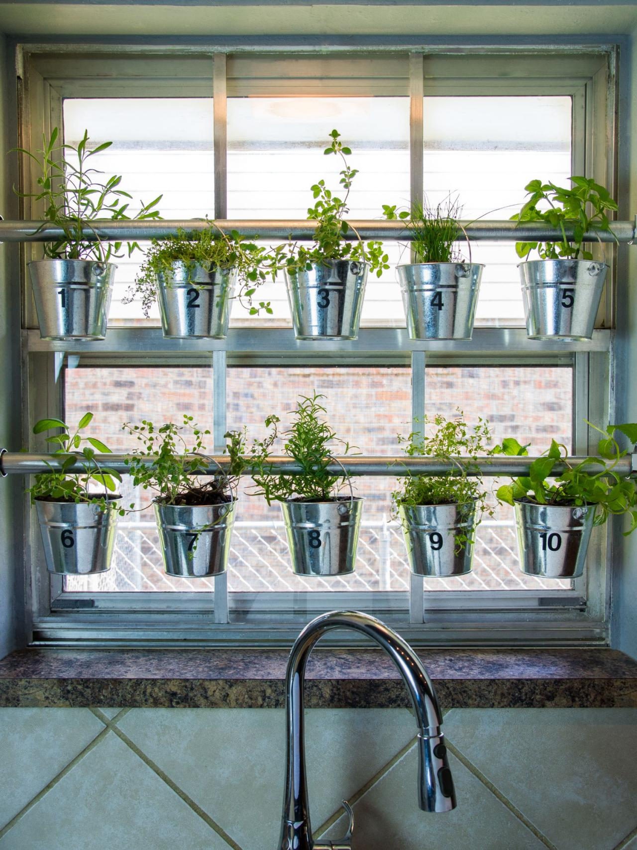 Diy Garden Window Plans 10 Clever Ways To Organize 43 Decorate With Tension Rods Hgtv