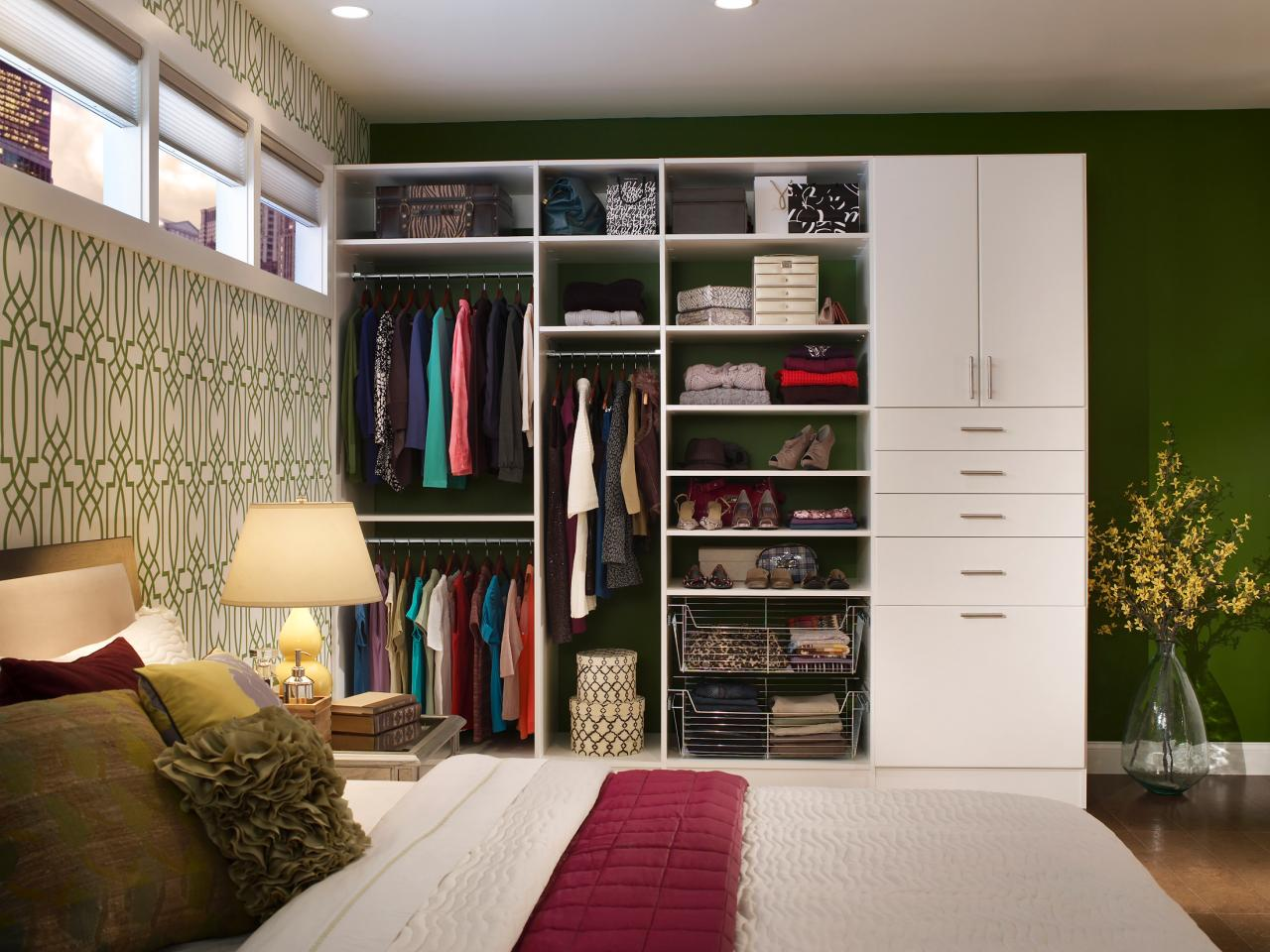 Bedroom Clothing Storage Ideas Closet Storage Bins And Boxes Hgtv