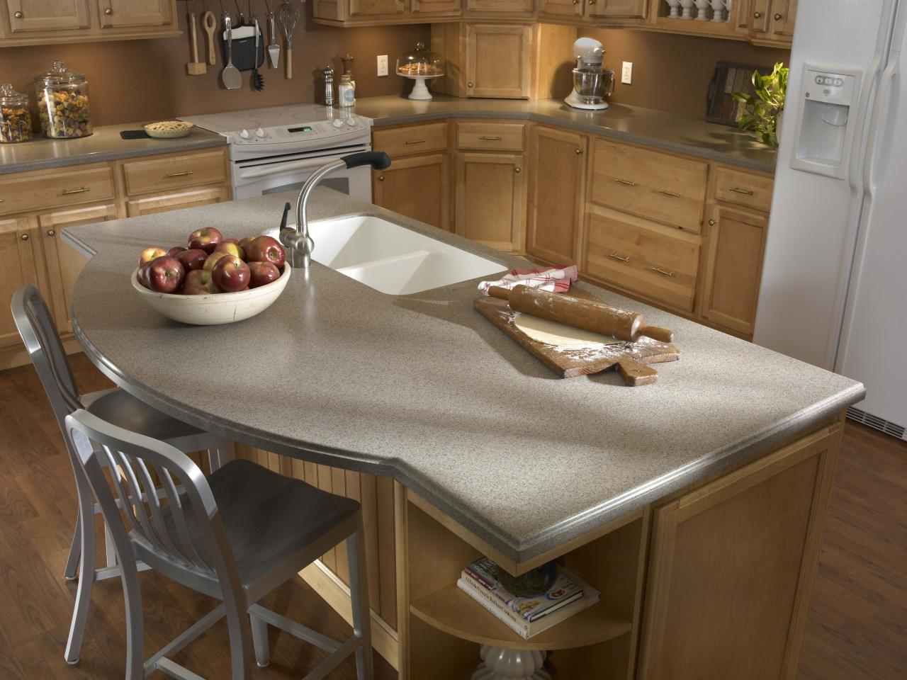 Cost Of Solid Surface Countertop Solid Surface Countertops For The Kitchen Hgtv