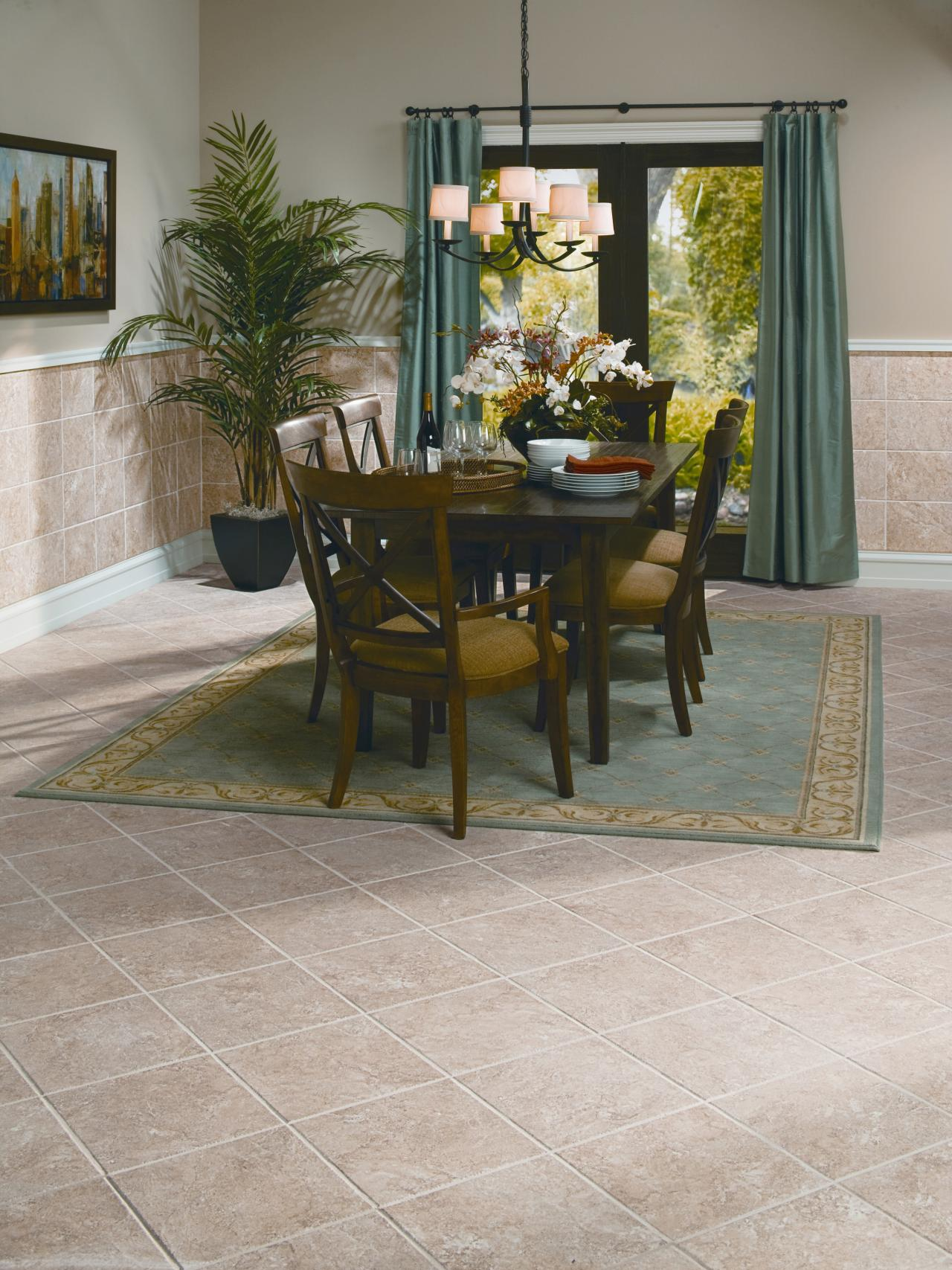 Dining Room Tile Ideas Tile Floors For Bedrooms Pictures Options And Ideas Hgtv