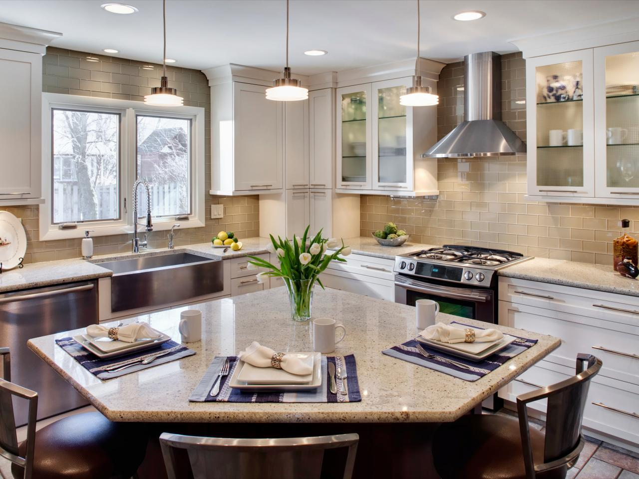 Images Of Modern Kitchens Contemporary Kitchens Hgtv