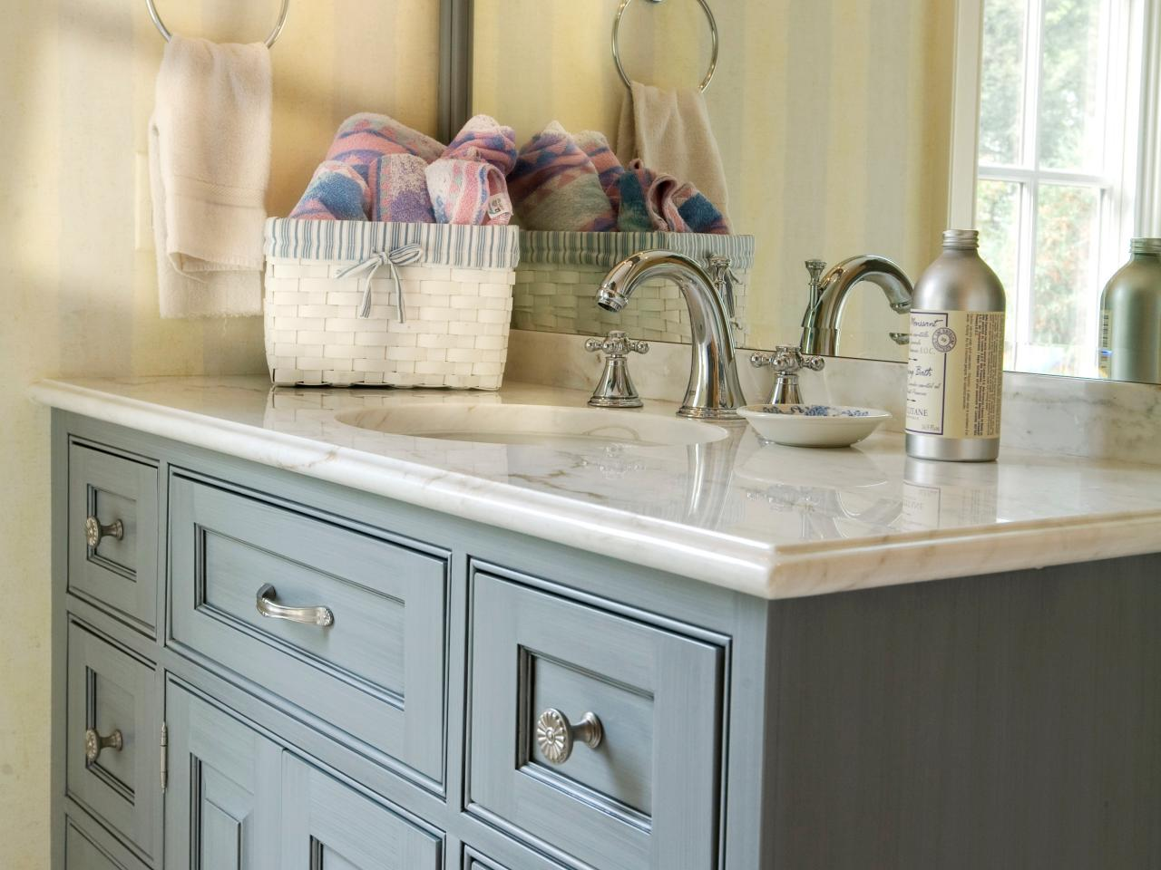 Marble Bathroom Countertop Options Hgtv
