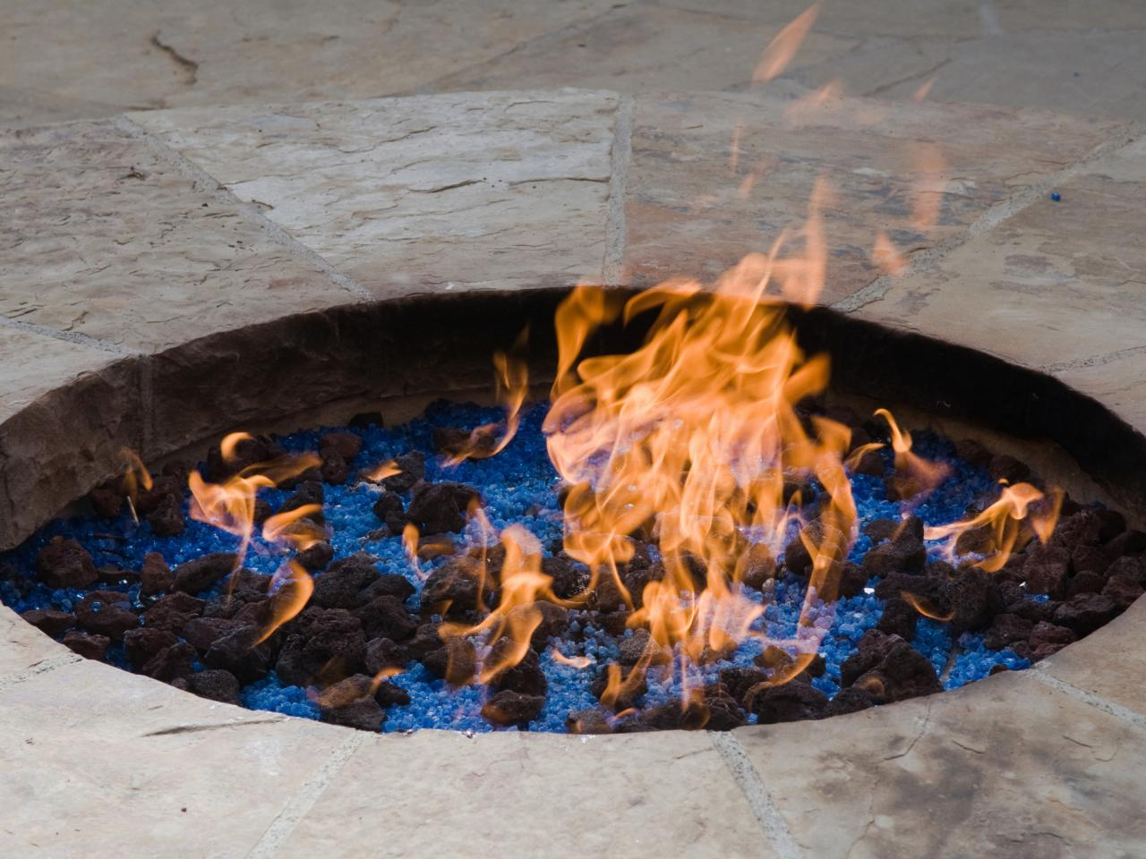 Convert Fireplace To Gas Burning Propane Vs Natural Gas For A Fire Pit Hgtv