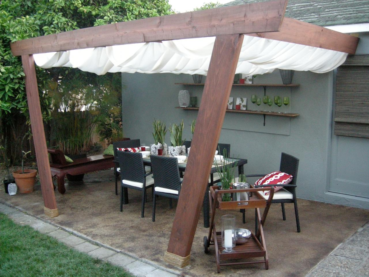 Outdoor Covers Patio Covers And Canopies Hgtv