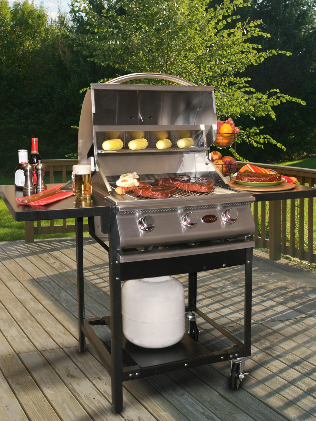 Outdoor Küche Holzofen Charcoal Vs Gas Outdoor Grills Hgtv