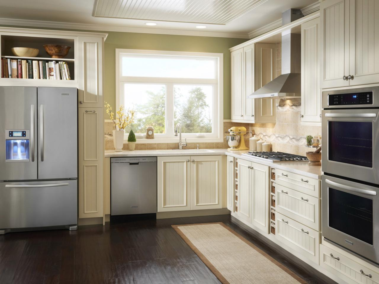 Small Kitchen Ideas White Cabinets Small Kitchen Options Smart Storage And Design Ideas Hgtv