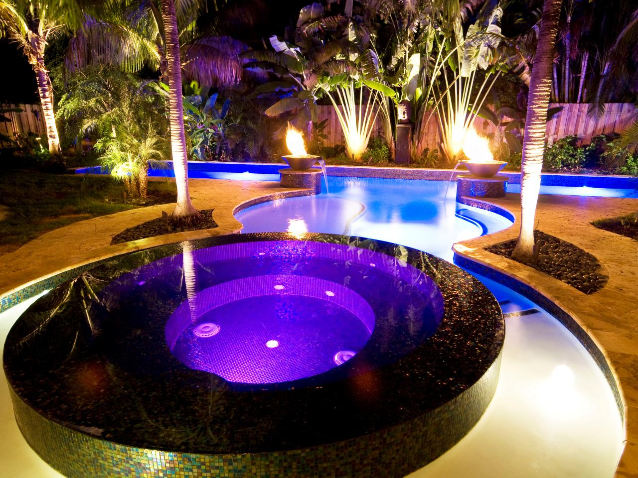 Jacuzzi Pool Bilder Swimming Pool Specialty Features Hgtv