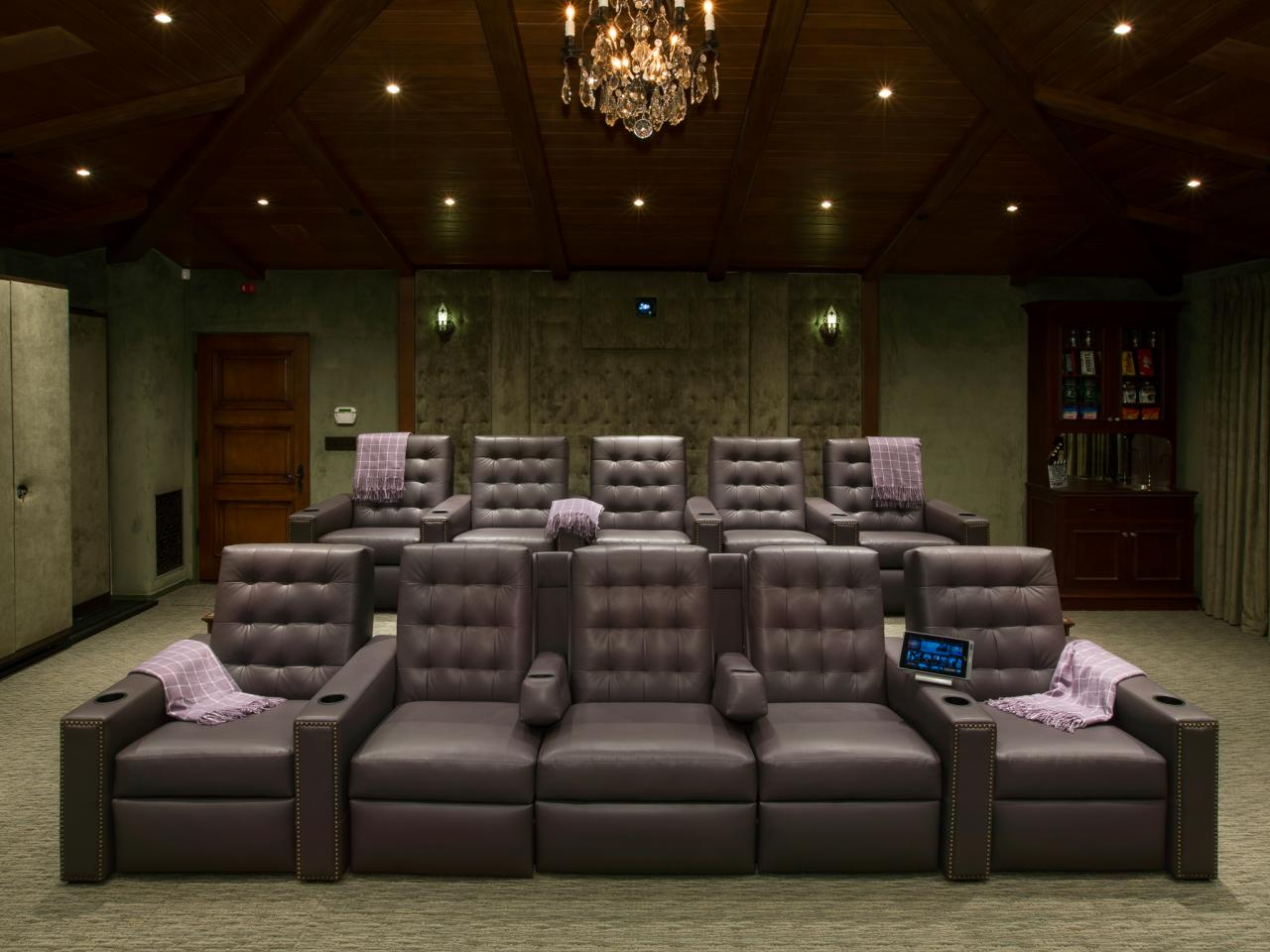 Theatre Room Furniture Media Room Seating Ideas Pictures Options Tips And Ideas