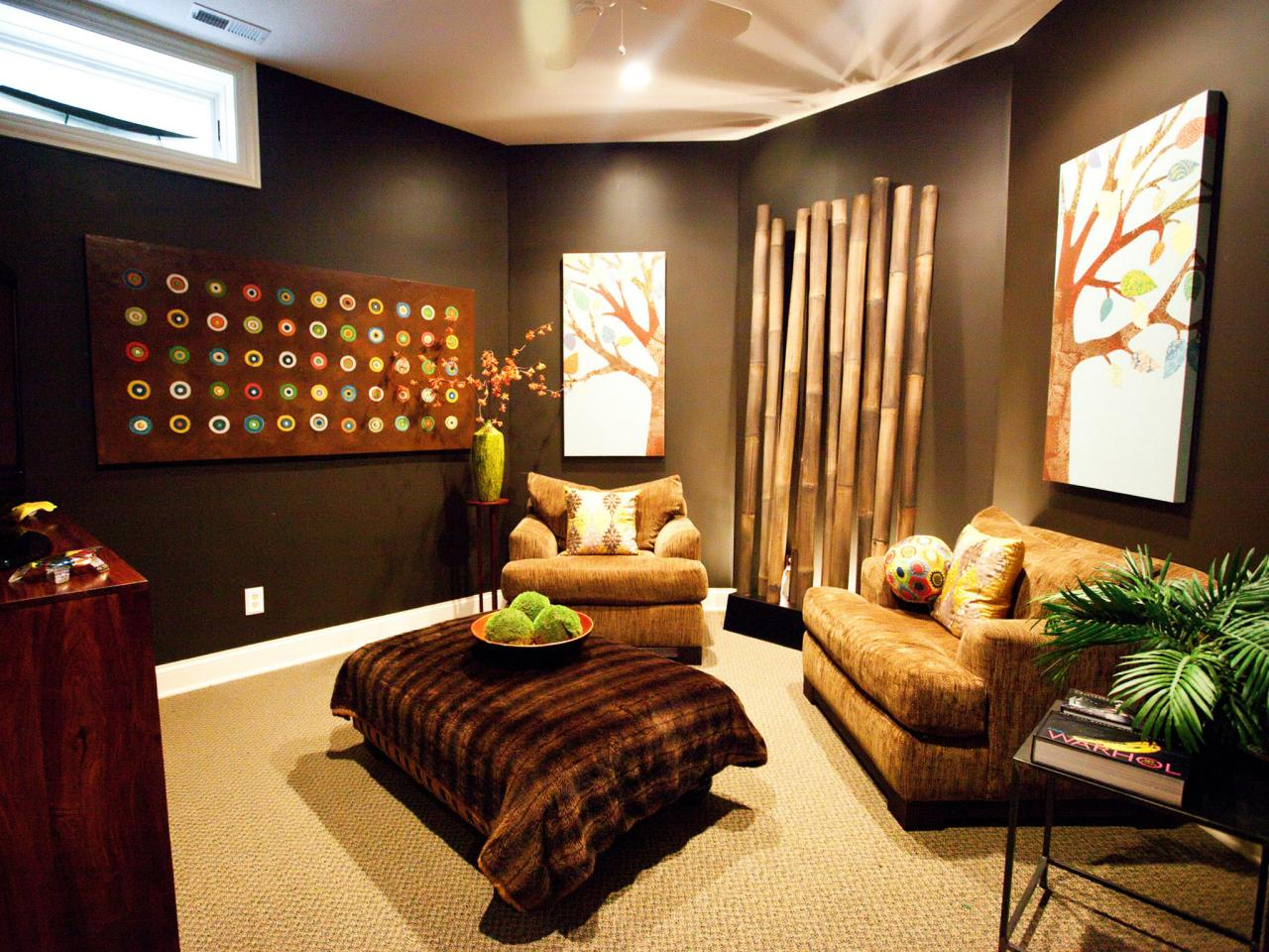 Room Decorative Items Media Room Decor Pictures Options Tips And Ideas Hgtv