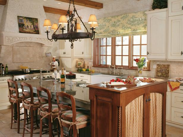 Cucina Freestanding Vintage Country Kitchen Chairs: Pictures, Ideas & Tips From Hgtv