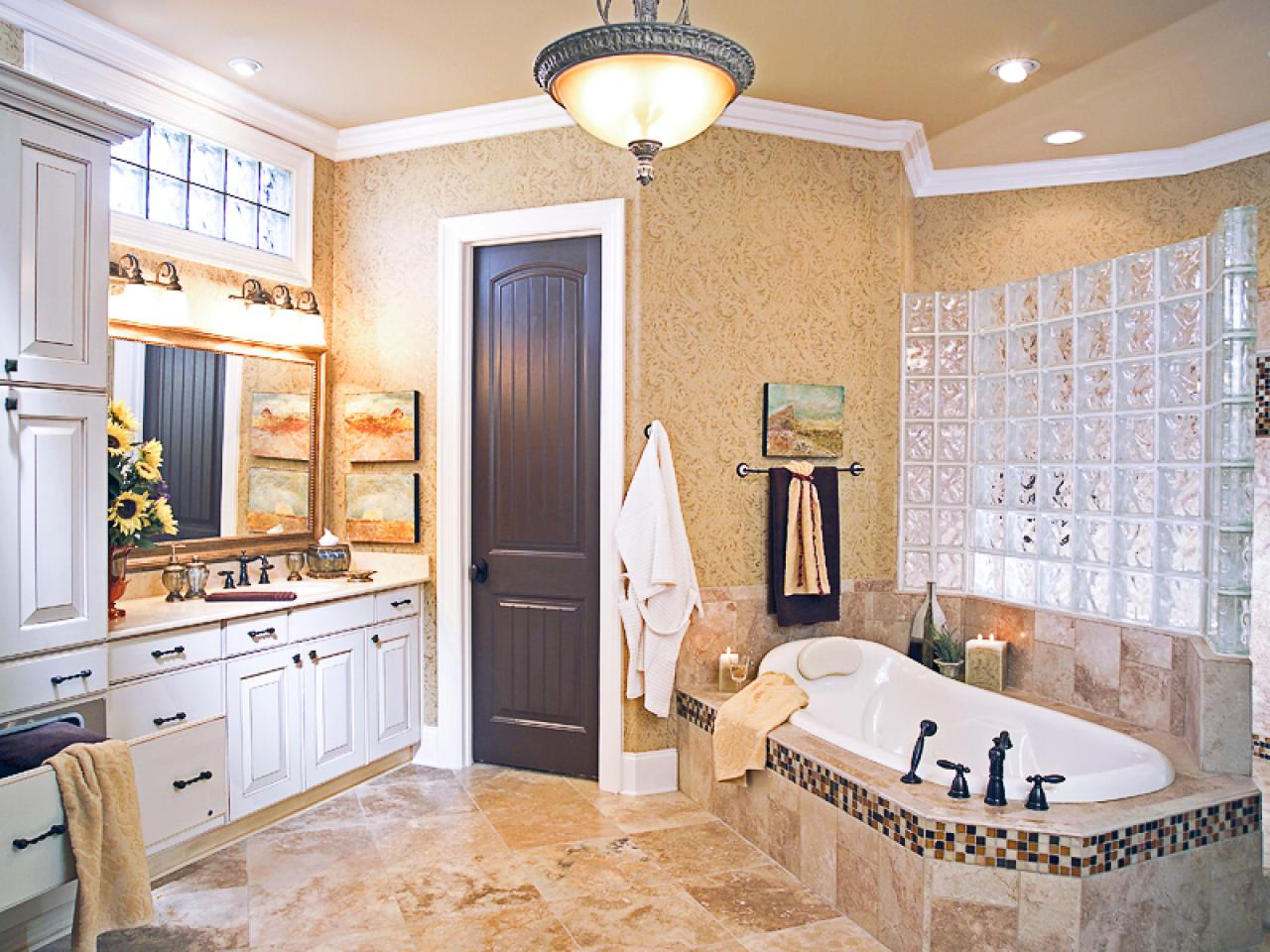 Salon Master Spanish Style Bathrooms Pictures Ideas And Tips From Hgtv