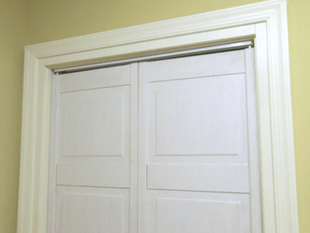 Replace Doors How To Replace A Closet Door Track Hgtv