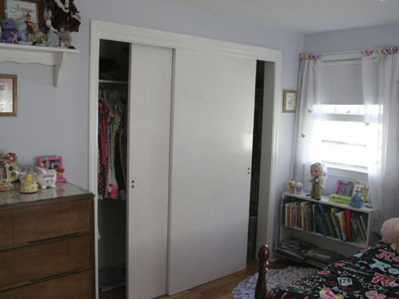 Replace Doors How To Replace Sliding Closet Doors Hgtv