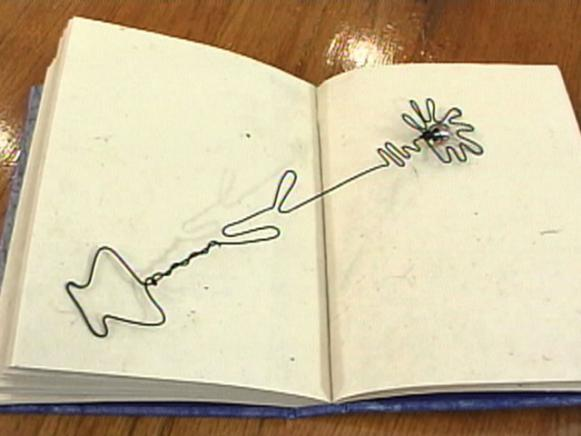 How to Make a Wire Bookmark HGTV