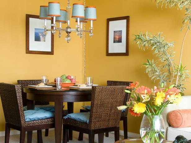 Feng Shui Warna Cat Rumah Our Fave Colorful Dining Rooms | Hgtv